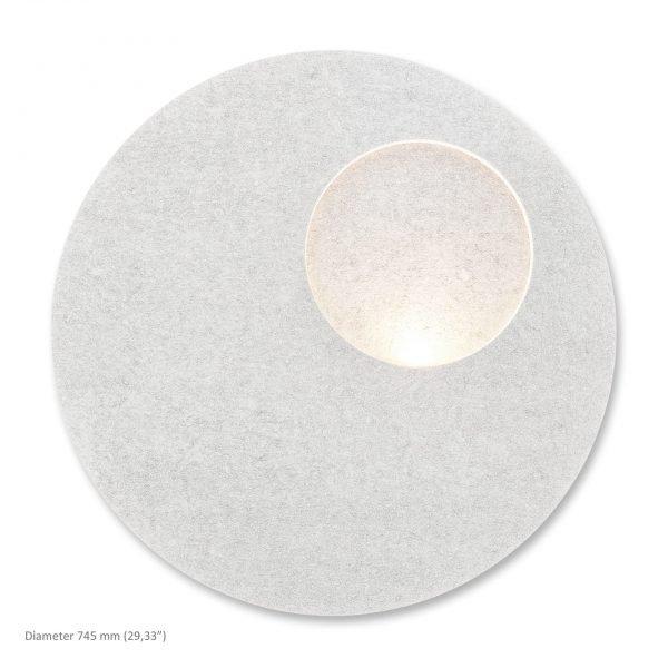 Siinne Kaltio akustinen valaisin valkoinen akustiikkavalaisimet