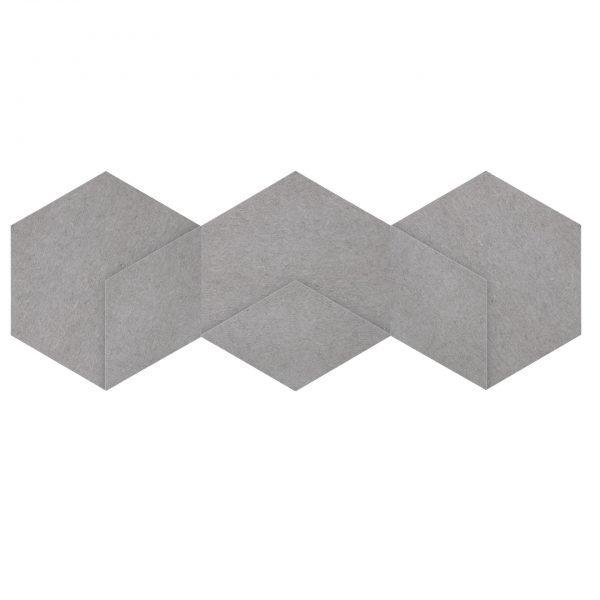 Siinne Heksagon elementti akustiikkapaneelit h