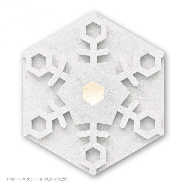 Siinne Lumihiutale valoelementti