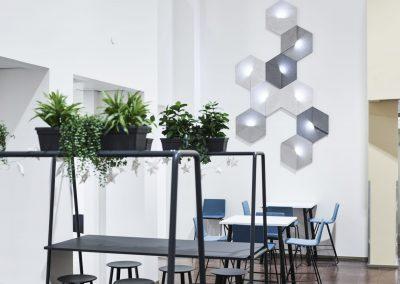 Siinne Heksagon valoakustiikka TEKU Rovaniemi
